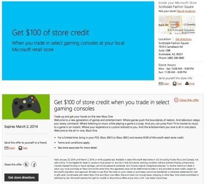 Xbox One Aktion USA