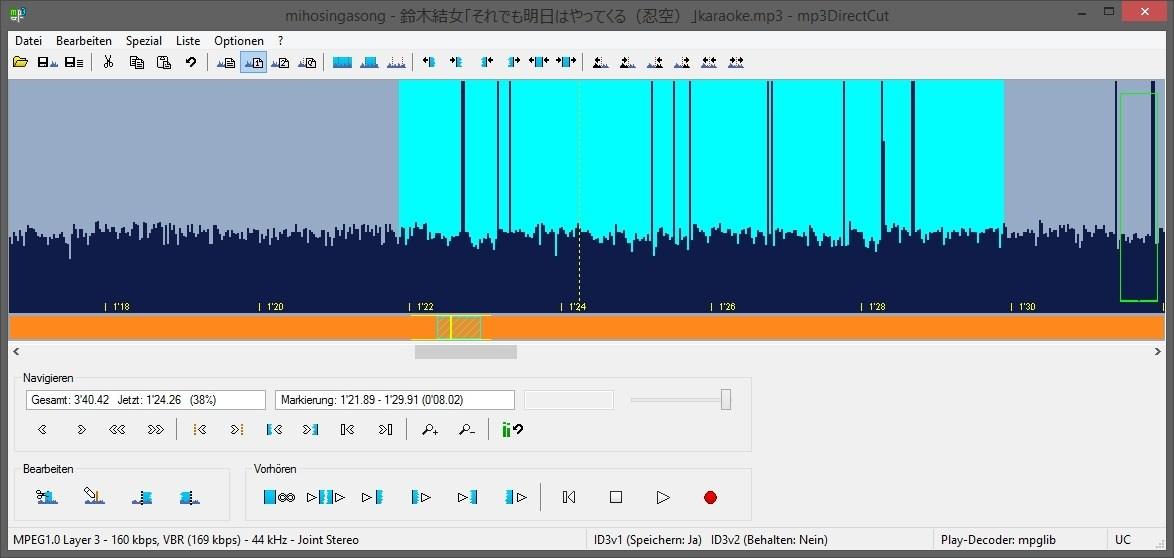 audiodateien zusammenschneiden