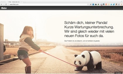 Flickr down