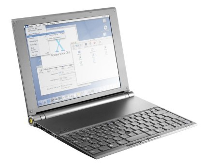 Sony VAIO X505 mit Mac OS X