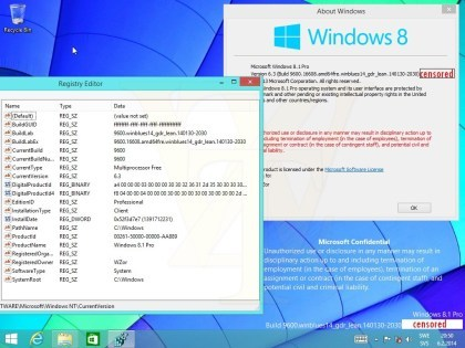 Windows 8.1 Update 1 Build 9600.16608