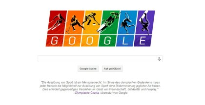 Google-Doodle: Sotschi 2014