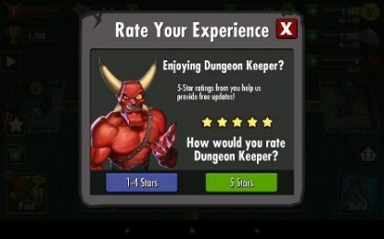 EA: Dungeon Keeper für Android