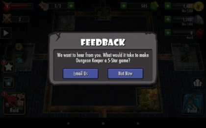 EA: Dungeon Keeper f�r Android