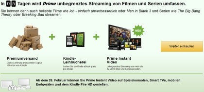 Amazon Prime Streaming
