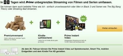 Amazon Prime Streaming