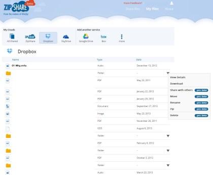 WinZips neuer ZipShare-Dienst