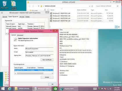 Windows 8.1 Update 1 Build 9600.17031