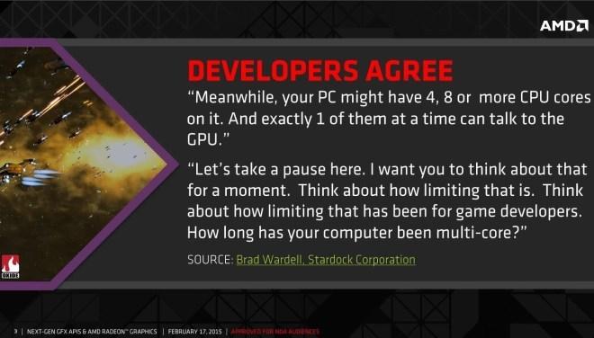 AMD: DirectX 12 wird endlich volles Multi-Core-Potenzial ausschöpfen