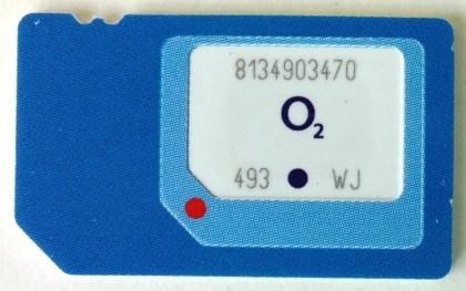 O2 3-in-1-SIM