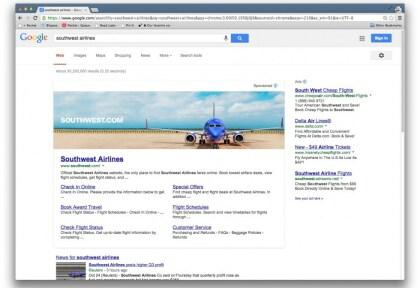Googles Werbebanner-Experiment