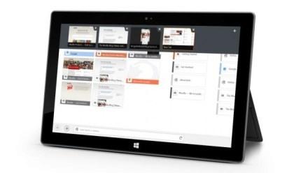 Firefox Windows 8 App