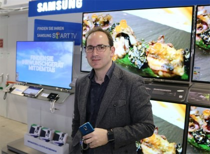 Luke Mansfield - Samsung Innovation Center Europe