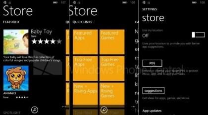 Windows Phone Store in WP8.1